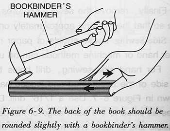 The-back-of-the-book-should-be-rounded-slightly-with-a-bookbinder's-hammer