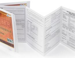 Booklet label printing