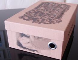 Cardboard Shoe Boxes 2