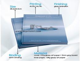 hardcover book printing, Jewelry book printing