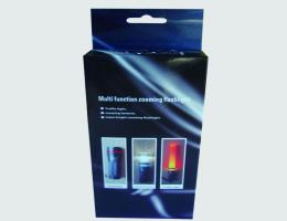 Flashlight packaging box