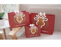 Customized Christmas Paper Gift Bags