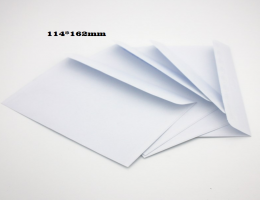 Envelopes with peel & seal closure