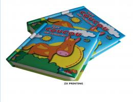 Cartoon hardcover book printing