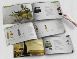 A5 Wine Catalog Printing