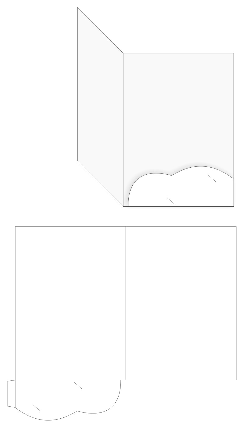 Folder printing full color folder printing services in zx china folder template 1 one pocket maxwellsz